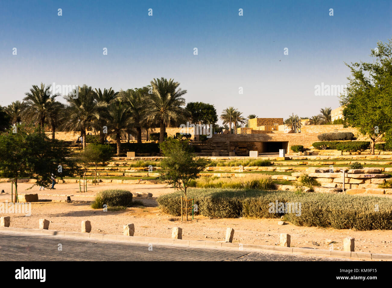 Parque Diriyah, Riyadh, Arabia Saudita Imagen De Stock