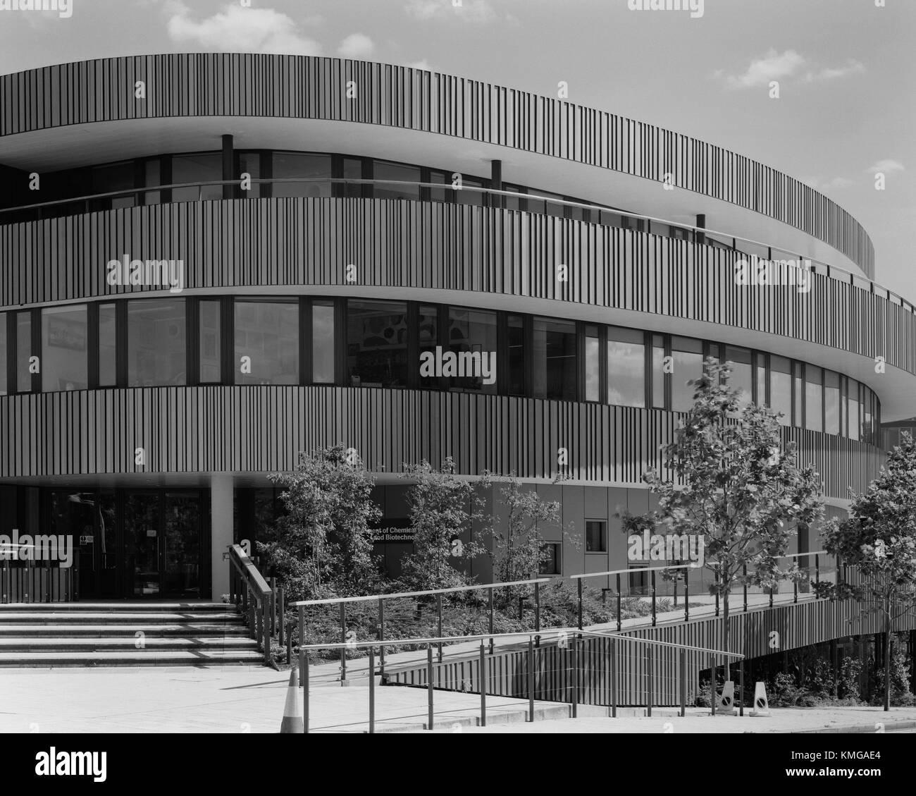 La Universidad de Cambridge Departamento de Ingeniería Química y Biotecnología en el oeste de Cambridge Imagen De Stock