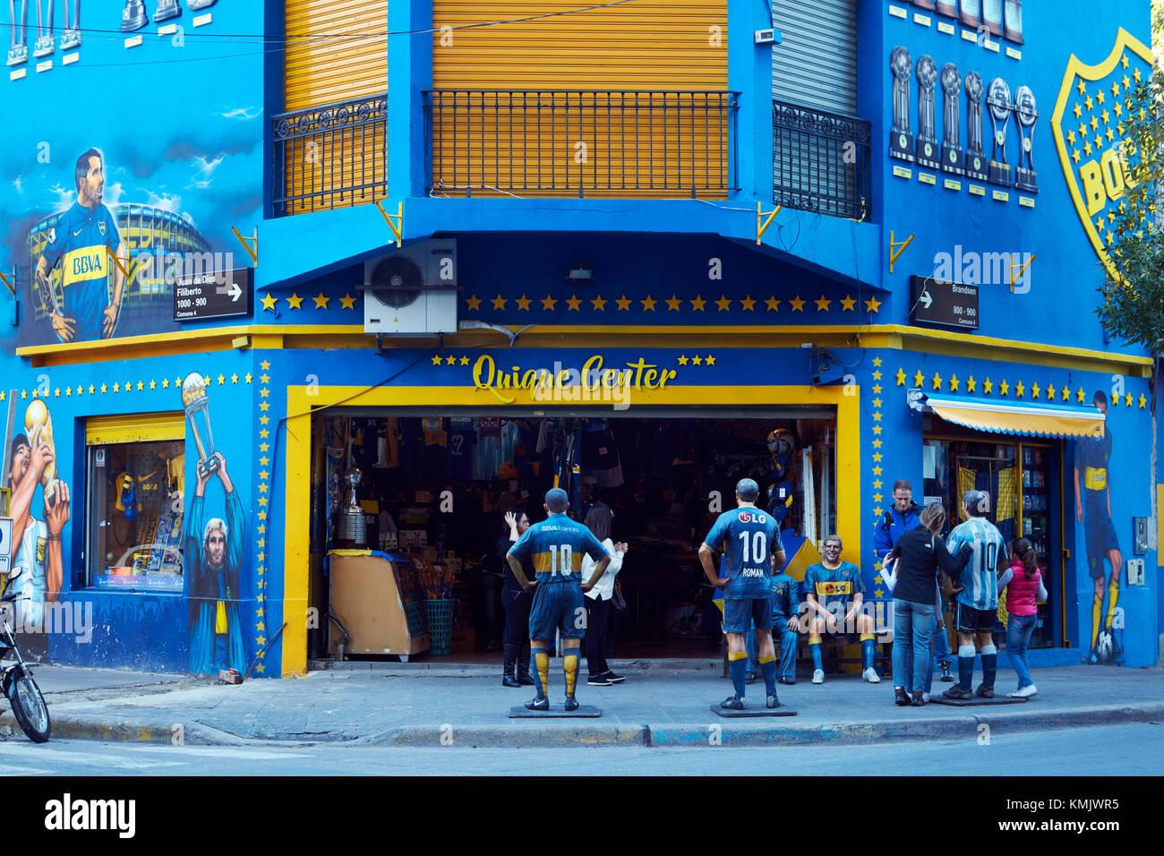 2cc33774cd939 Tienda de fútbol Boca Juniors