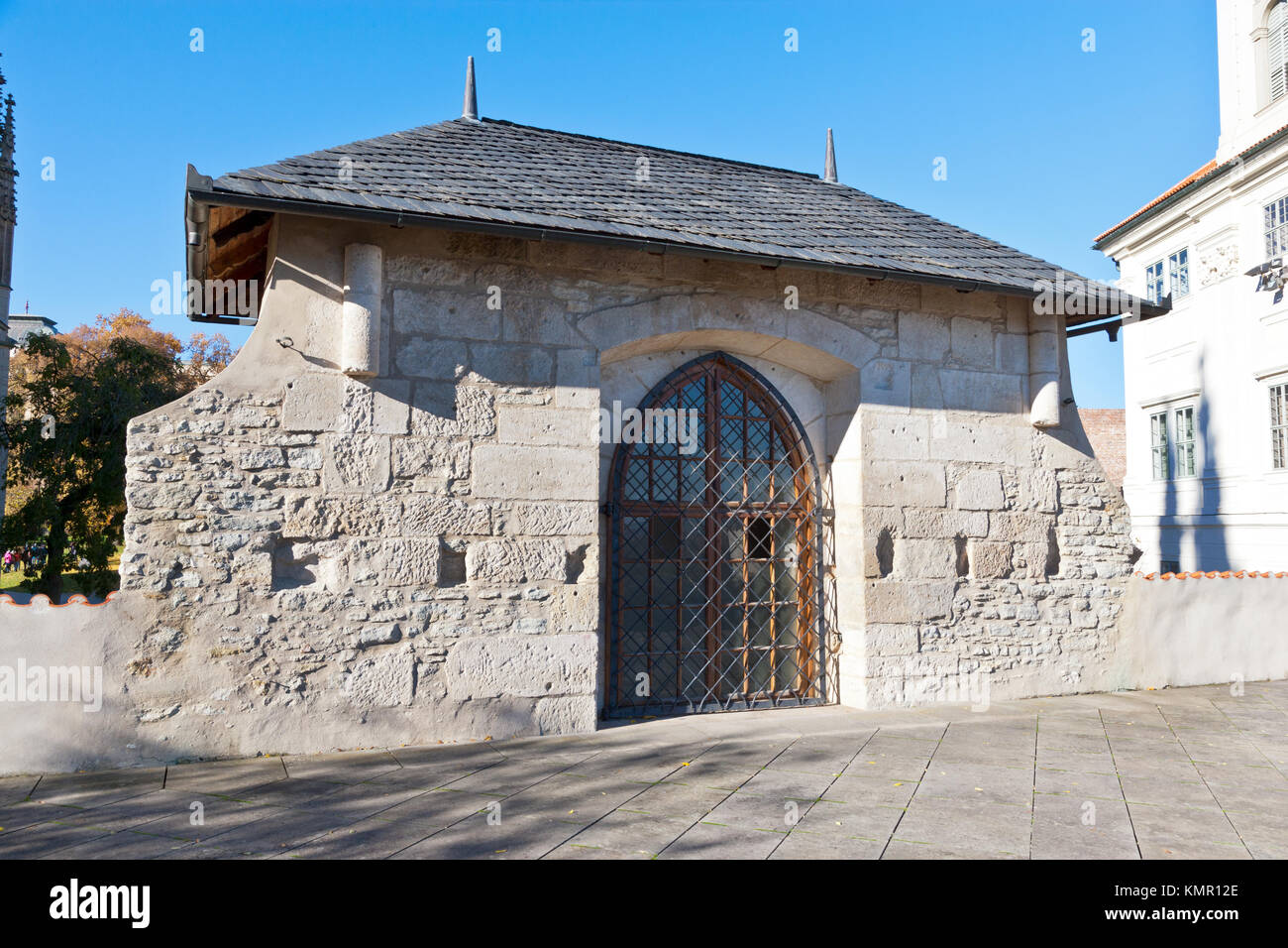 Kaple Božího těla, Kutná Hora (UNESCO), Středočeský kraj, Česká republika / Capilla del Corpus Imagen De Stock