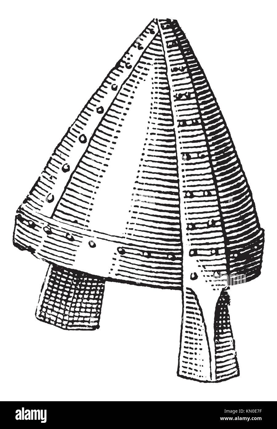9e5379bdc1b34 Casco Normando o galea vintage grabado grabado antiguo casco normando de  ilustración Imagen De Stock