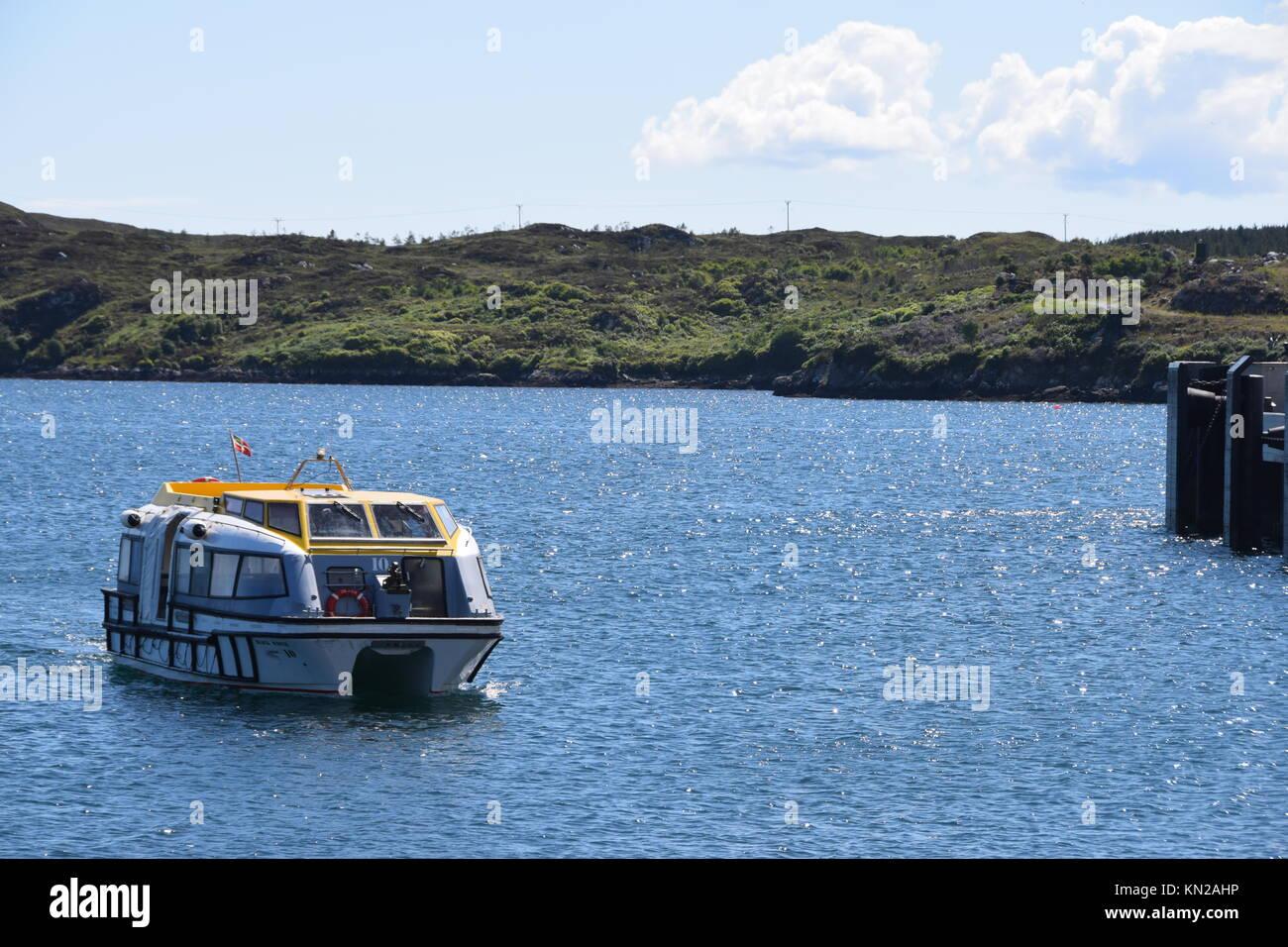 Oferta de cruceros off Stornoway Imagen De Stock