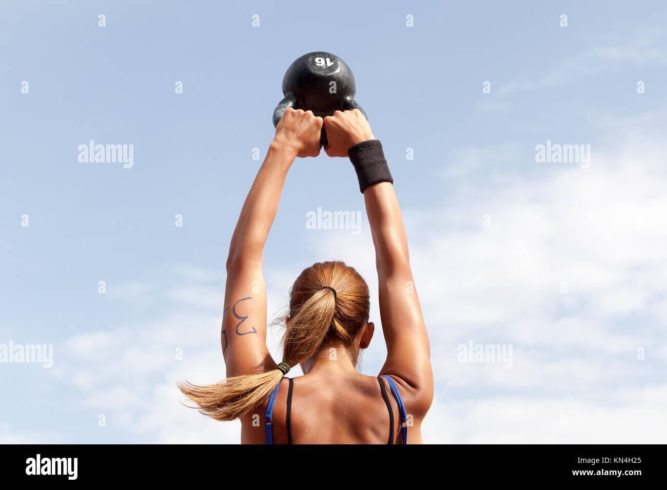 Person Swinging Kettle Bell Imágenes De Stock & Person Swinging ...