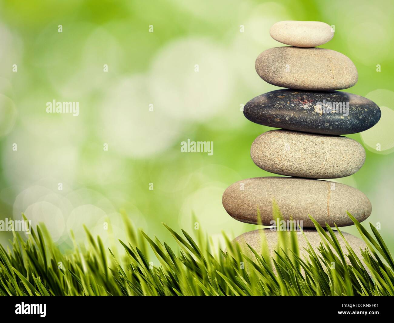 Bienestar, Salud y armonía natural concepto. Resumen Antecedentes naturales. Imagen De Stock