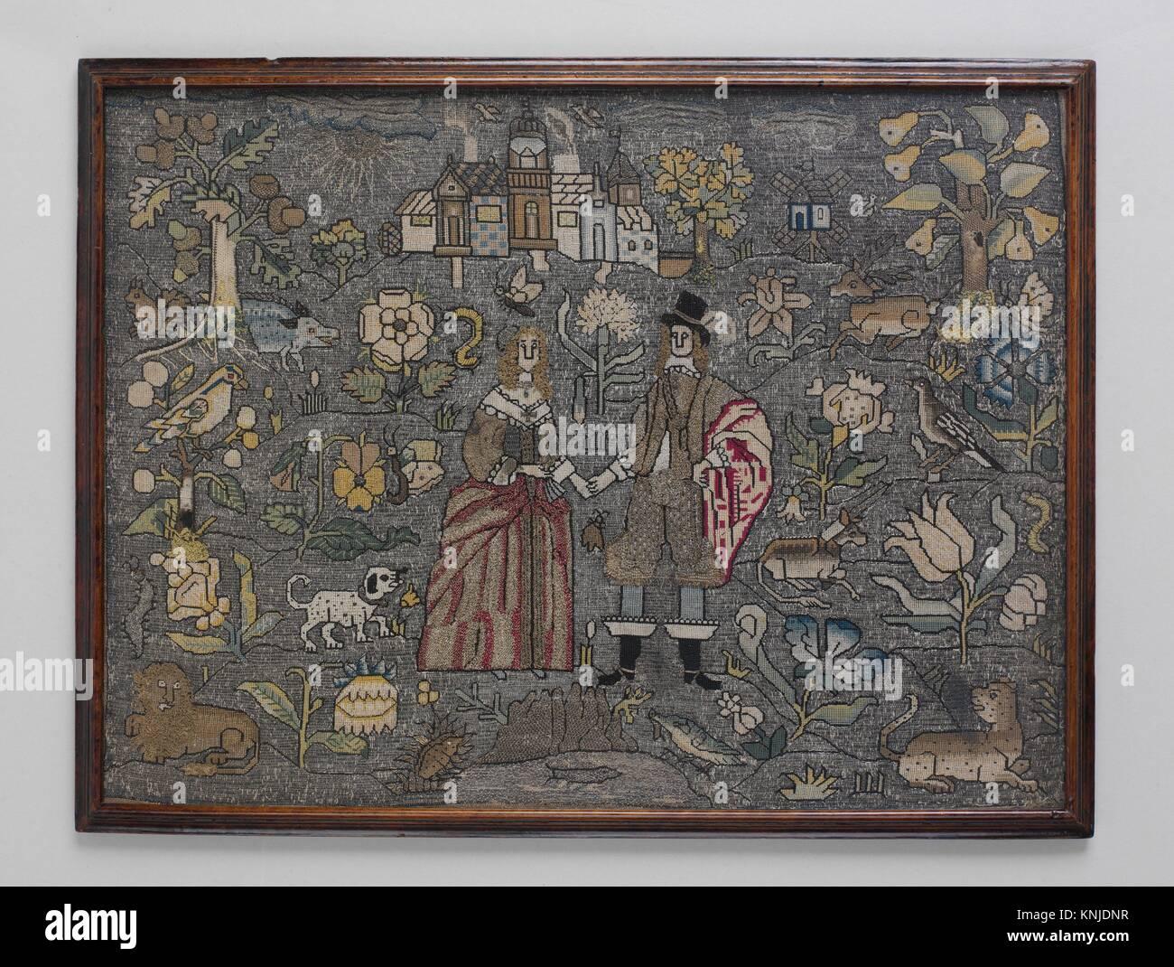 Imagen enmarcada. Fecha: mediados del siglo XVII; Cultura: British ...