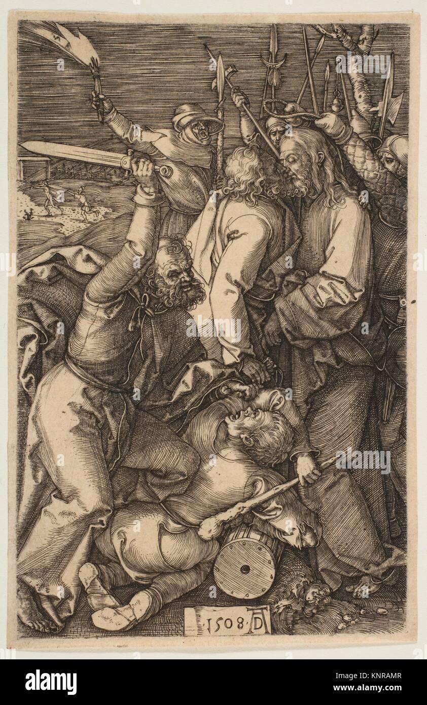 La Traición, de la Pasión. Artista: Alberto Durero (en alemán, Nuremberg Nuremberg 1471-1528); Fecha: 1508; media: Foto de stock