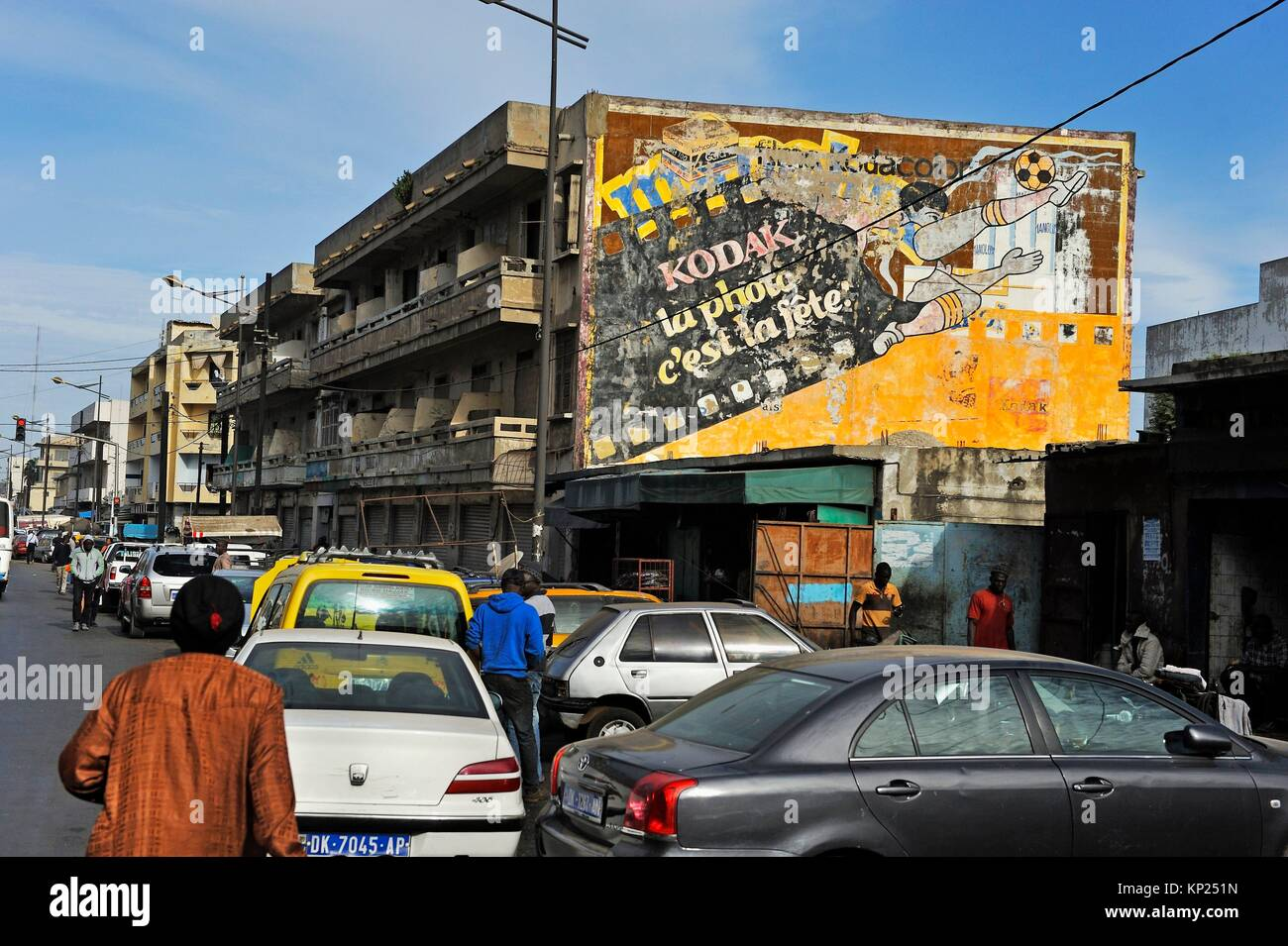 Dakar, Senegal, en Africa Occidental. Imagen De Stock