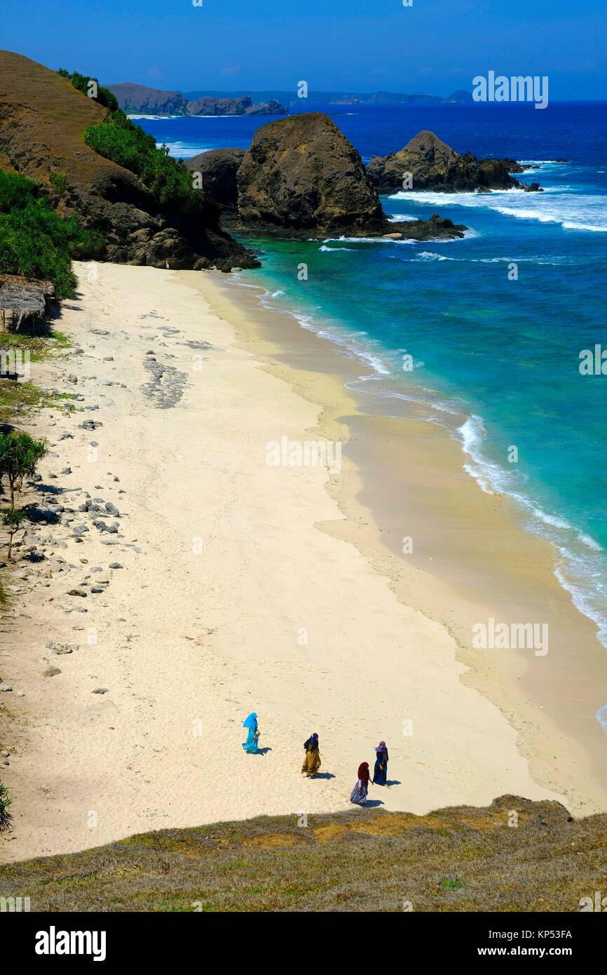 La isla de Lombok, Indonesia, el sudeste de Asia. Imagen De Stock