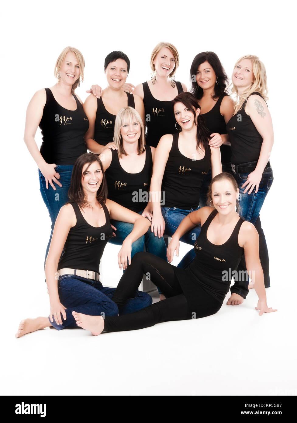 Frauengruppe - grupo de mujeres Imagen De Stock