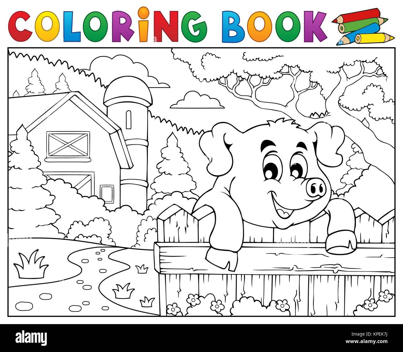 Lujoso Página Para Colorear De Cerdo De Tierra Friso - Enmarcado ...
