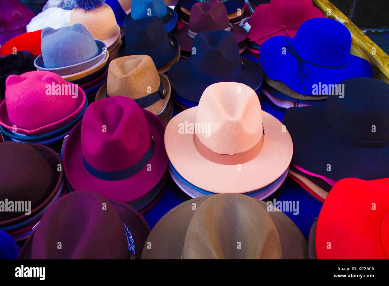 Different Hats Imágenes De Stock   Different Hats Fotos De Stock - Alamy d35e1448f420