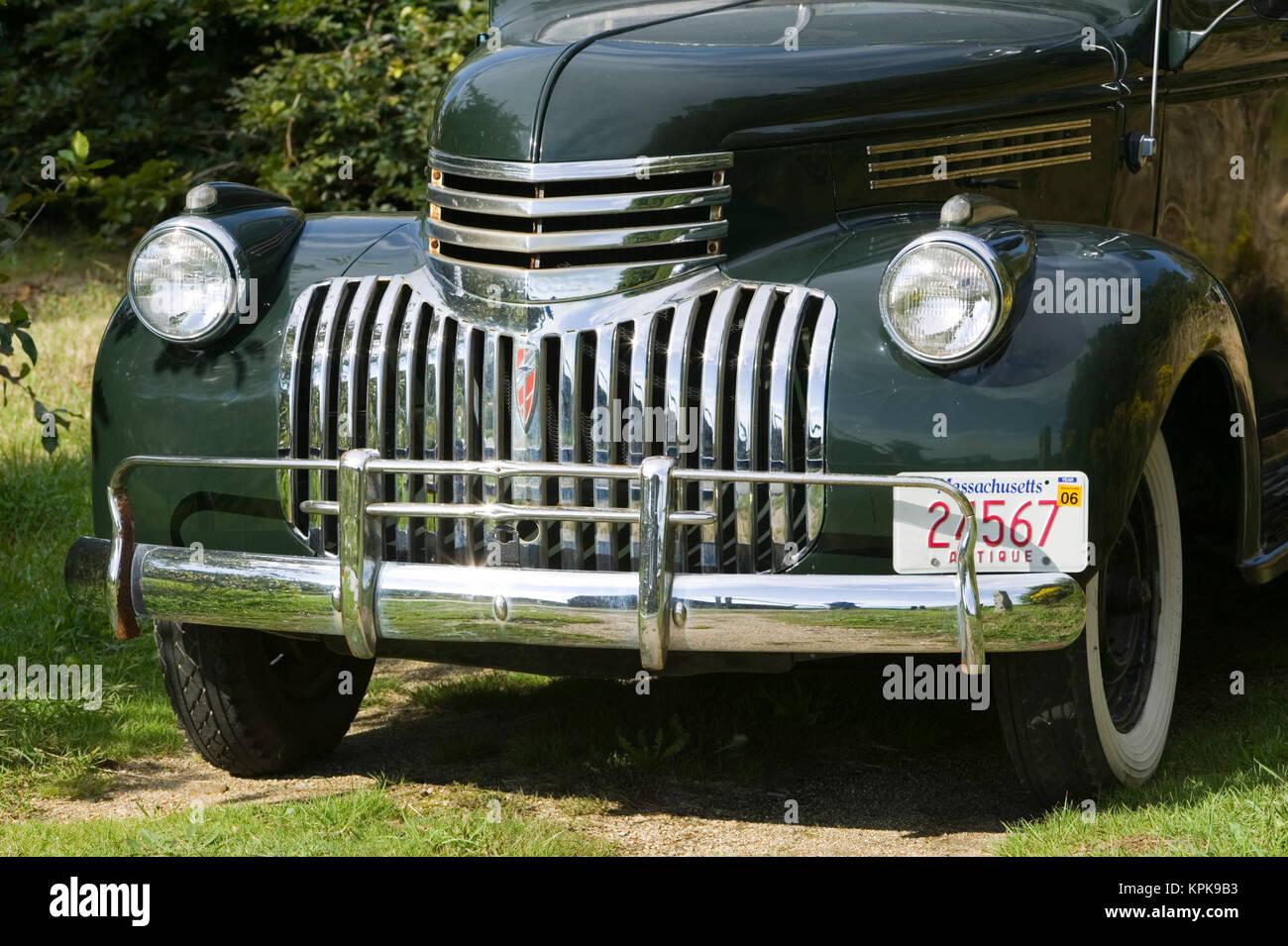 Estados Unidos, Massachusetts, Martha's Vineyard: West Tisbury, 1930 Camioneta Cheverolet Foto de stock