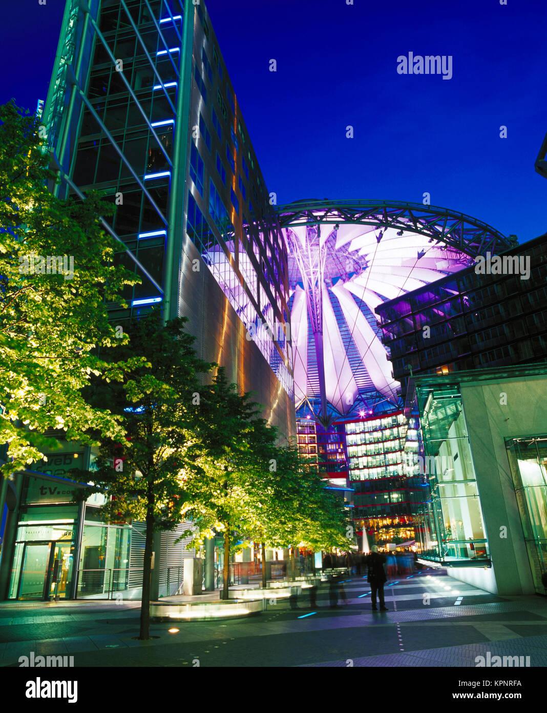 Potsdamer Platz, Berlín, Alemania Imagen De Stock