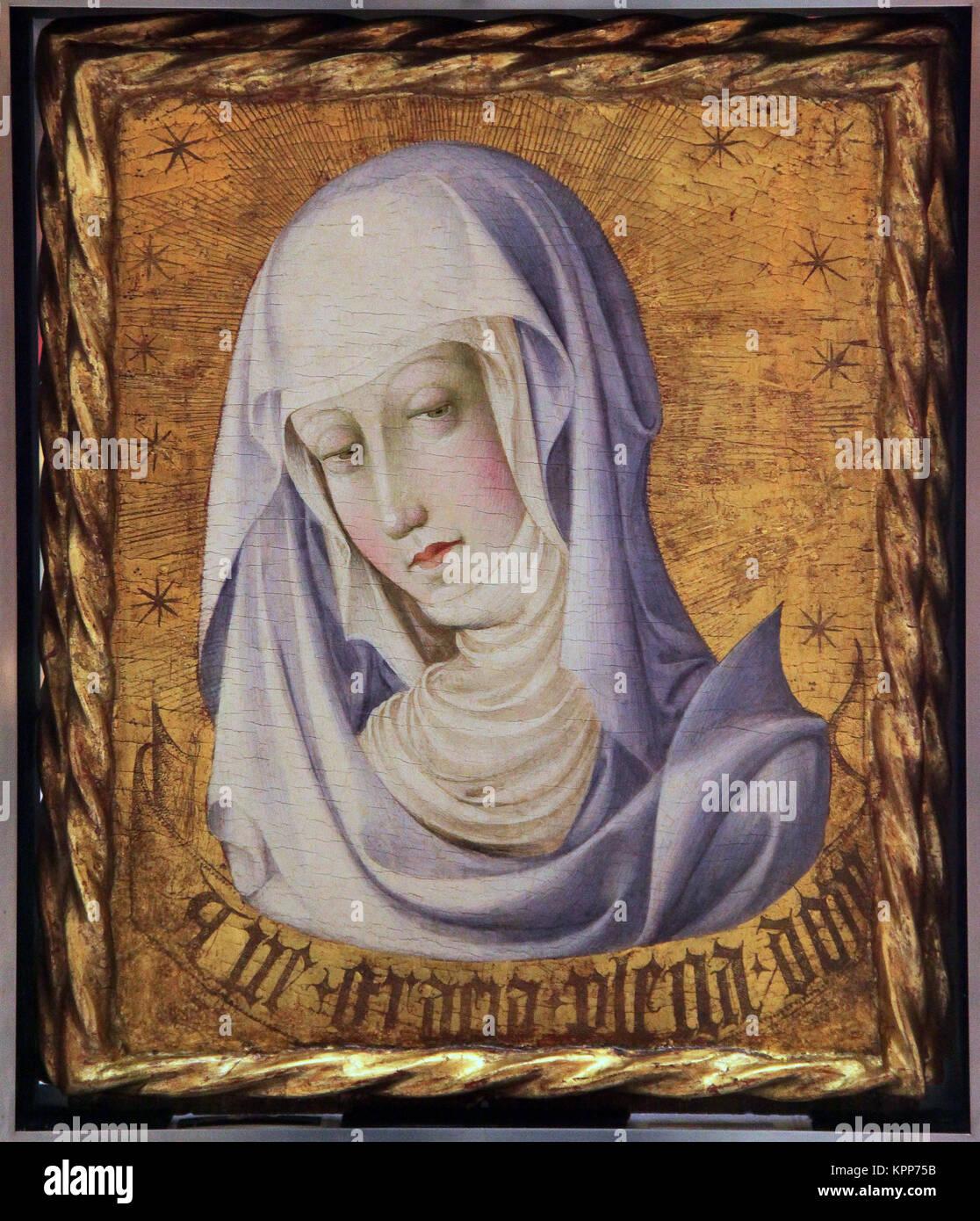 Ver nica de la virgen anunciaci n por gonzalo p rez o - Pintor valenciano ...