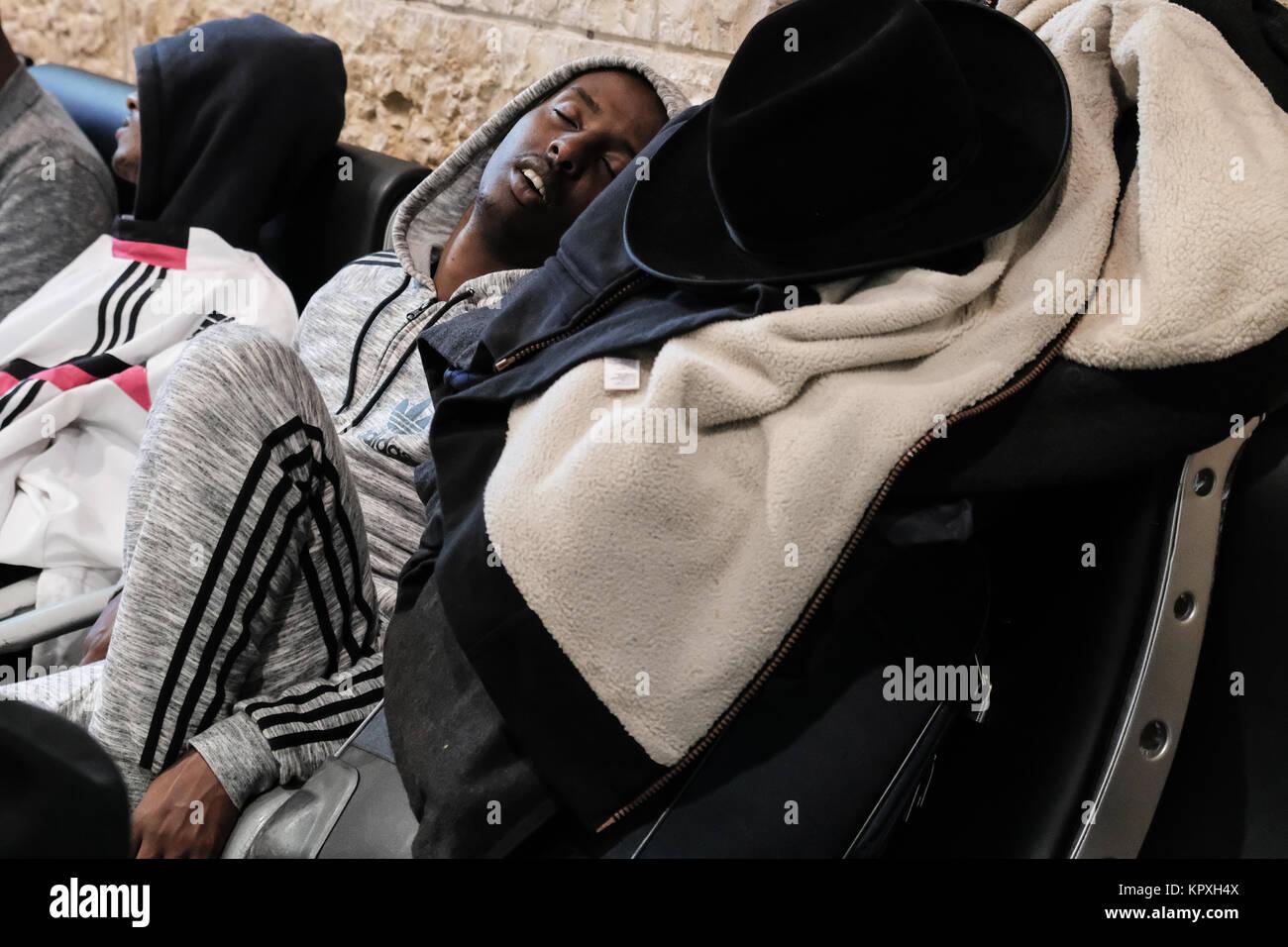 Jerusalén, Israel. 17 de diciembre de 2017. Mostradores de ...
