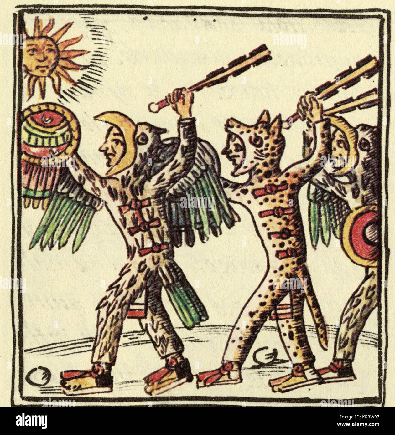 Este Dibujo Desde El Siglo Xvi El Códice Florentino Muestra