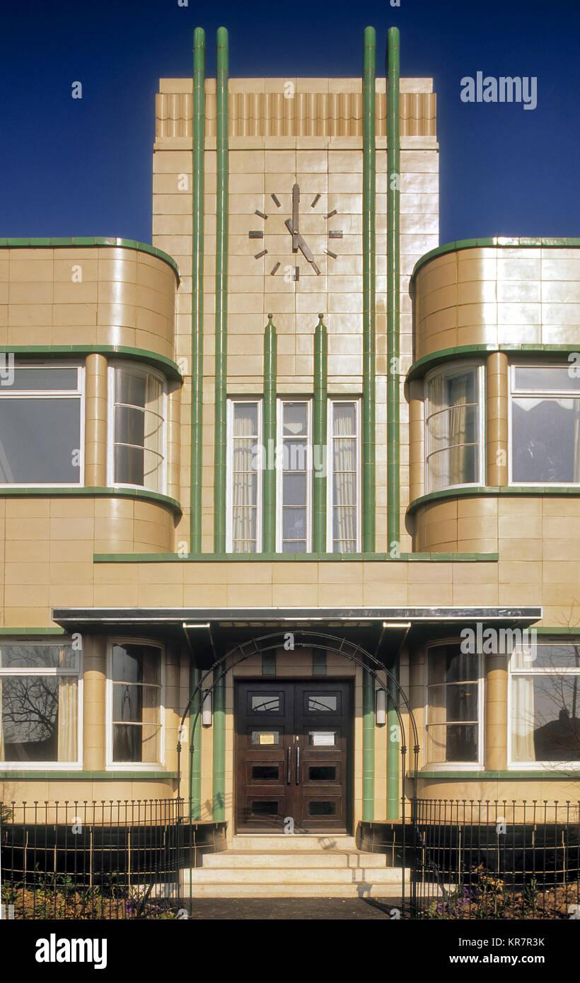 La panadería de luz diurna en Stockton-on-Tees Imagen De Stock