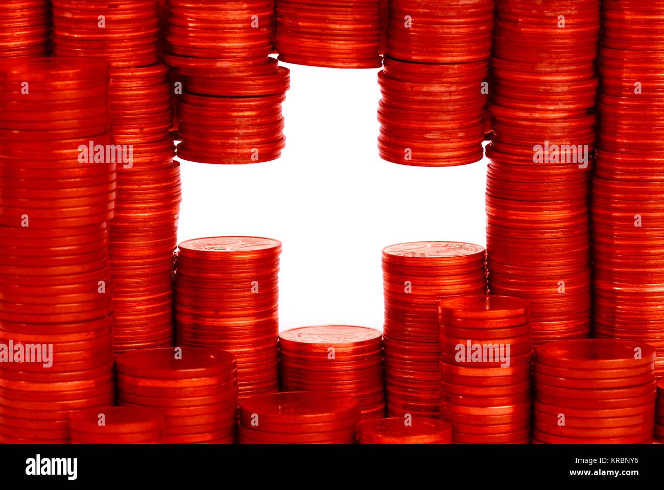 Bandera de Suiza Imagen De Stock