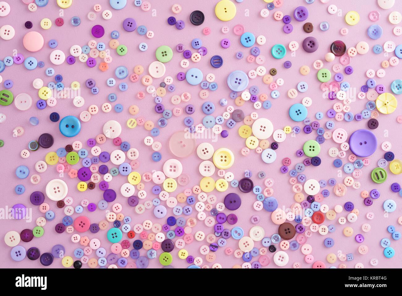 Colección de botones Foto de stock