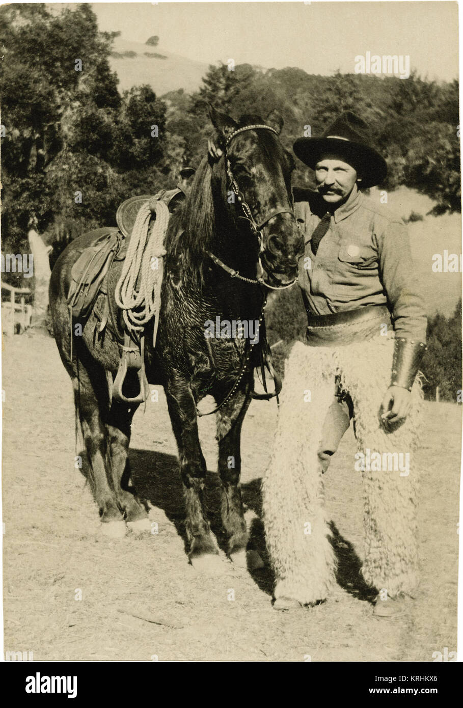 Cowboy de película Imagen De Stock