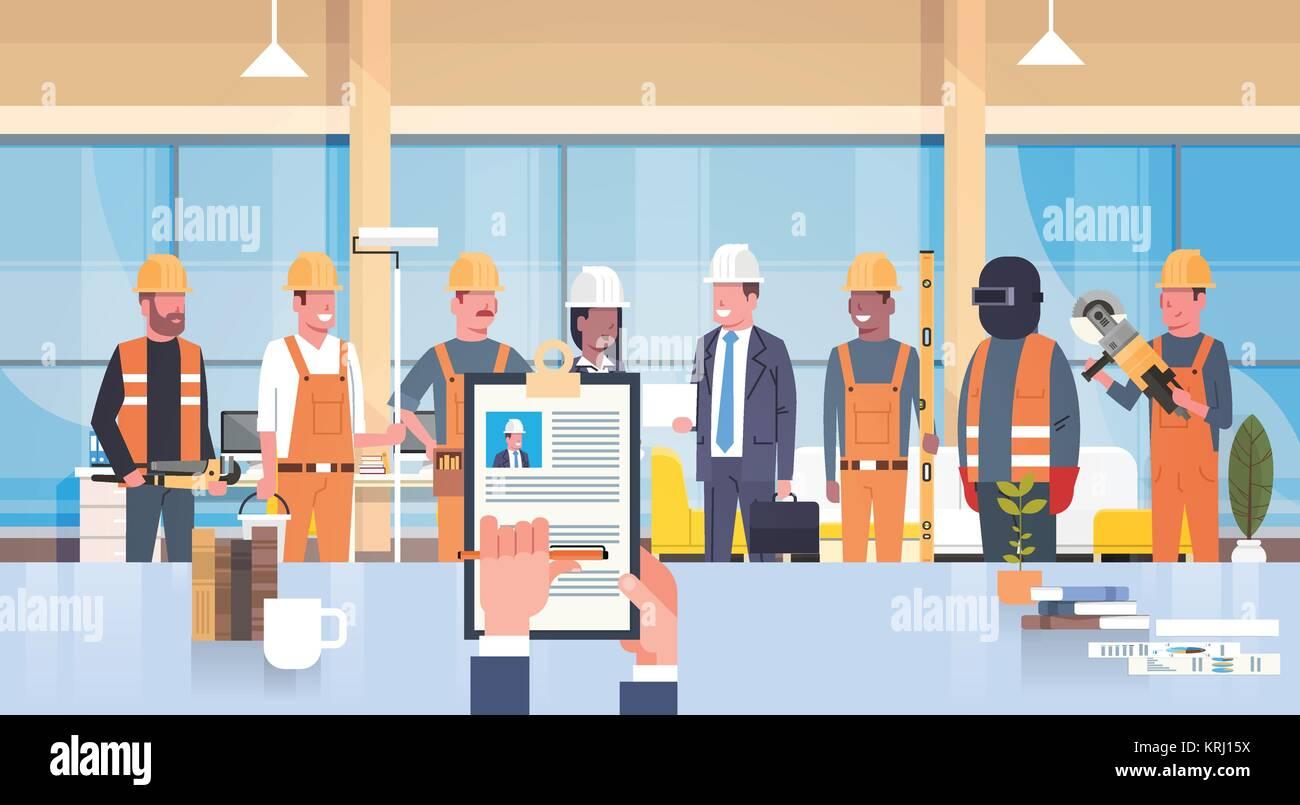Hr Manager Asidero Cv reanudar de trabajador de la construcción a ...