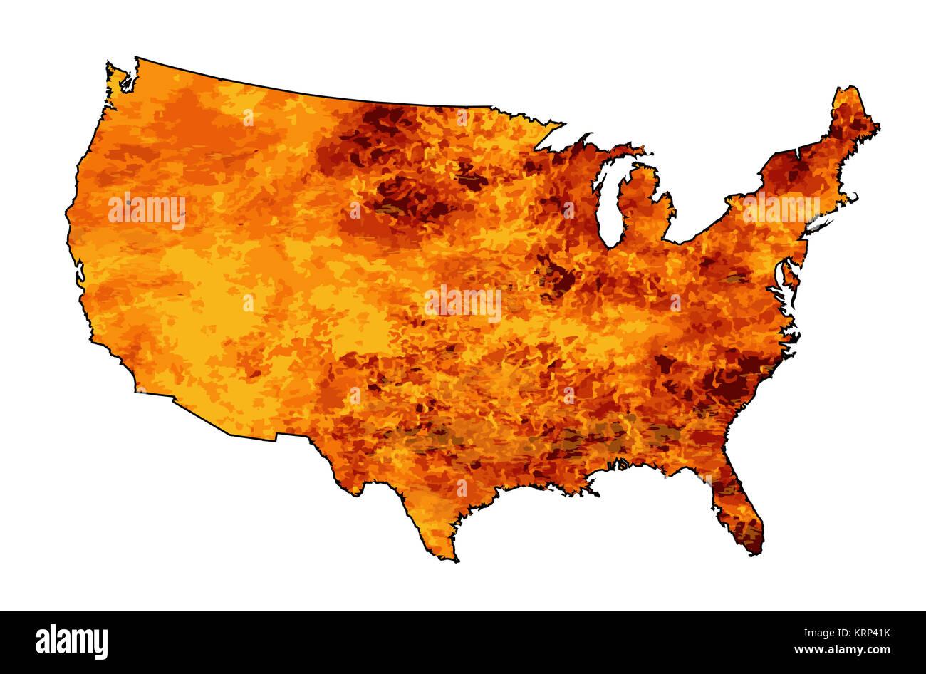 Heat Map Imágenes De Stock & Heat Map Fotos De Stock - Alamy