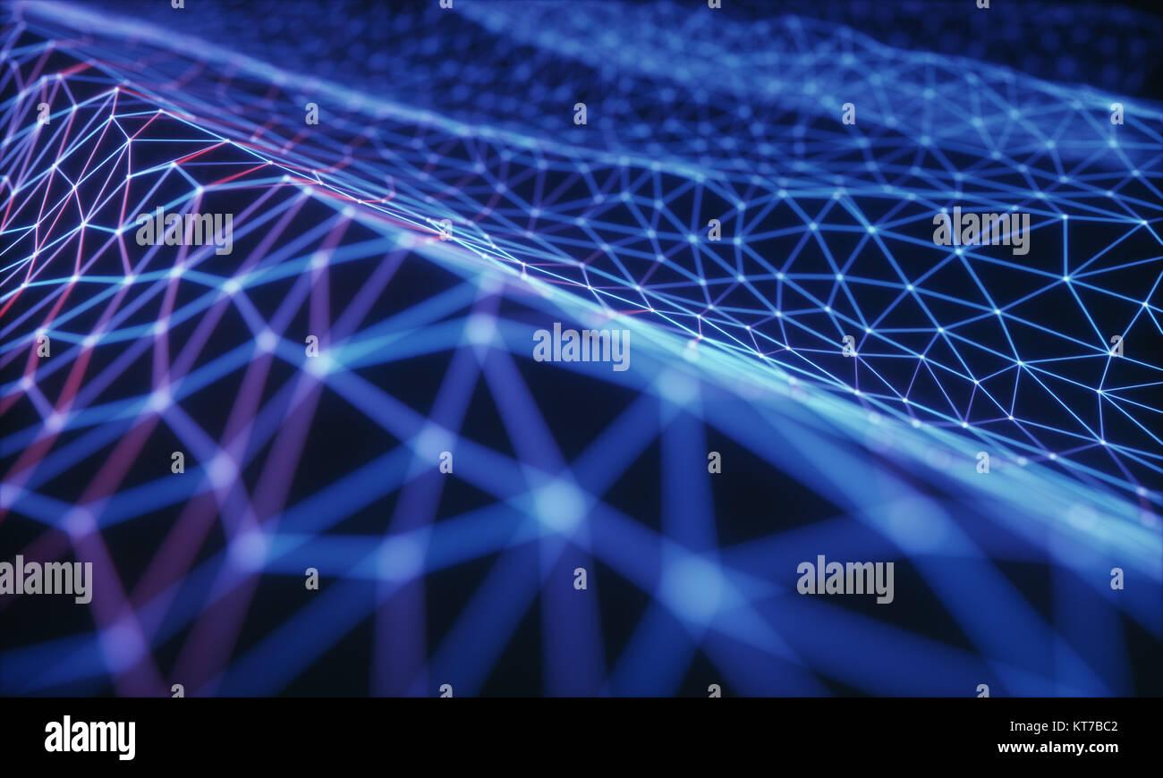 Resumen Antecedentes La Tecnología Foto de stock