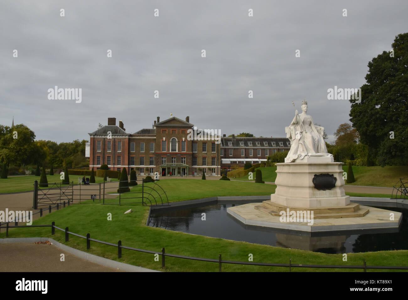 El Palacio de Kensington, Londres, Inglaterra, 4 de octubre, 2017 Foto de stock