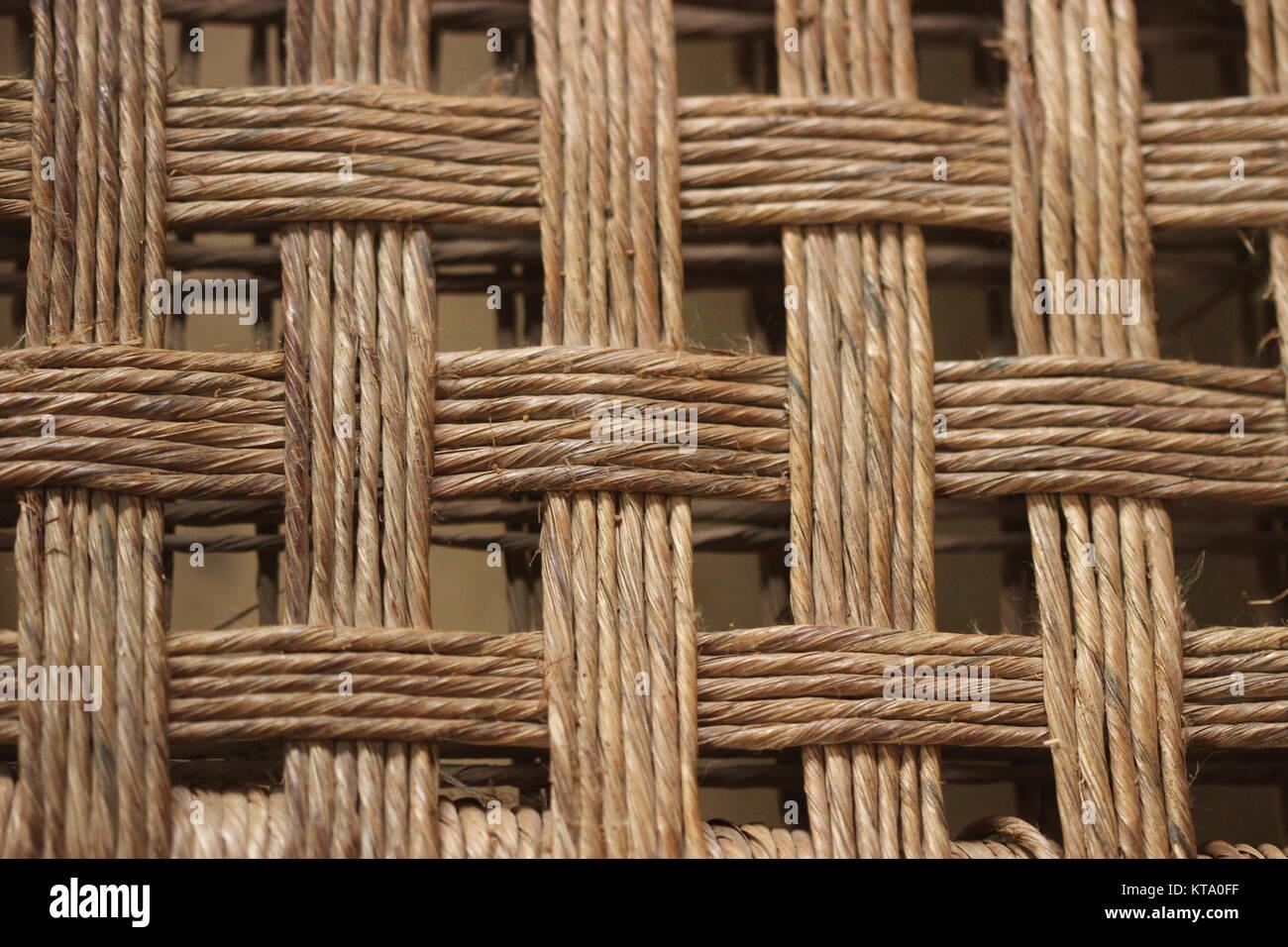 Entrelazado con patrón de madera Imagen De Stock