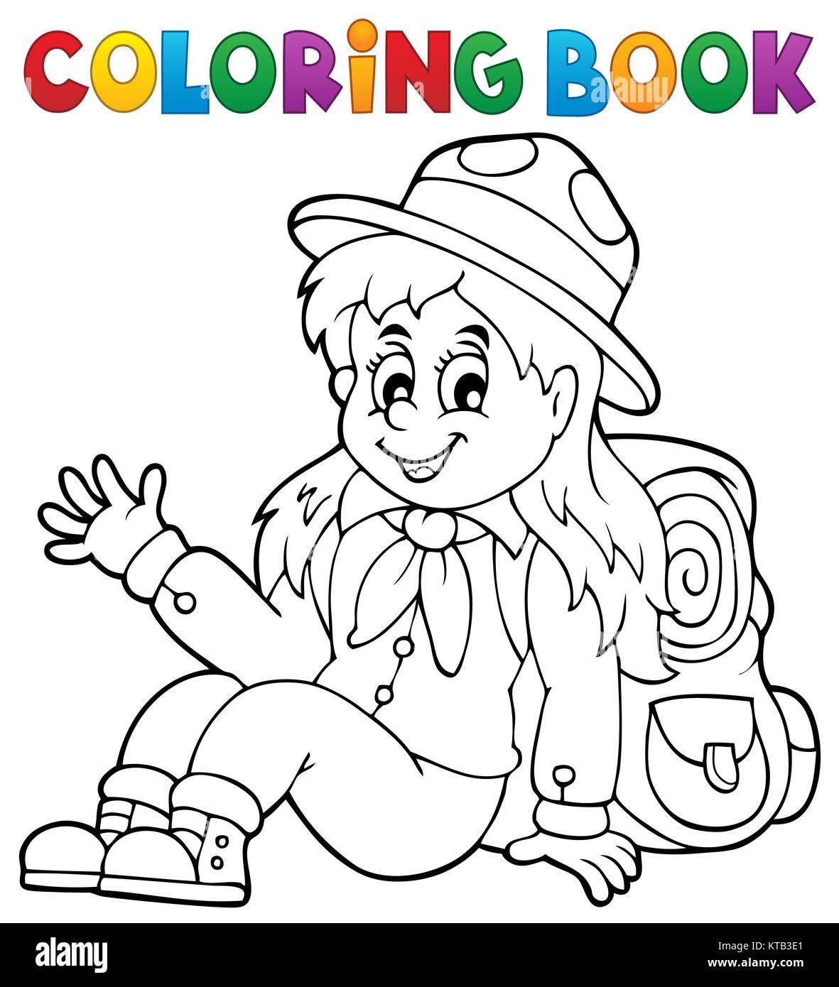 Vistoso Girl Scout Daisy Para Colorear Imprimible Componente ...