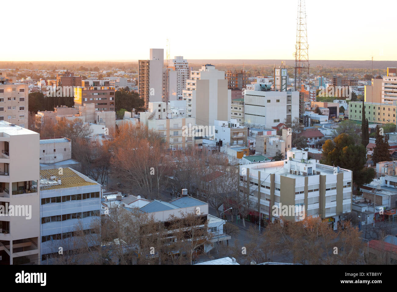 Neuquén, provincia de Neuquén, Argentina, la ciudad de Neuquén, capital de la provincia con el mismo Imagen De Stock