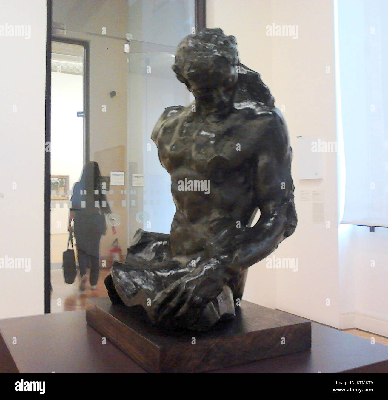 Auguste Rodin Torso masculino (O Beijo) 2 Imagen De Stock