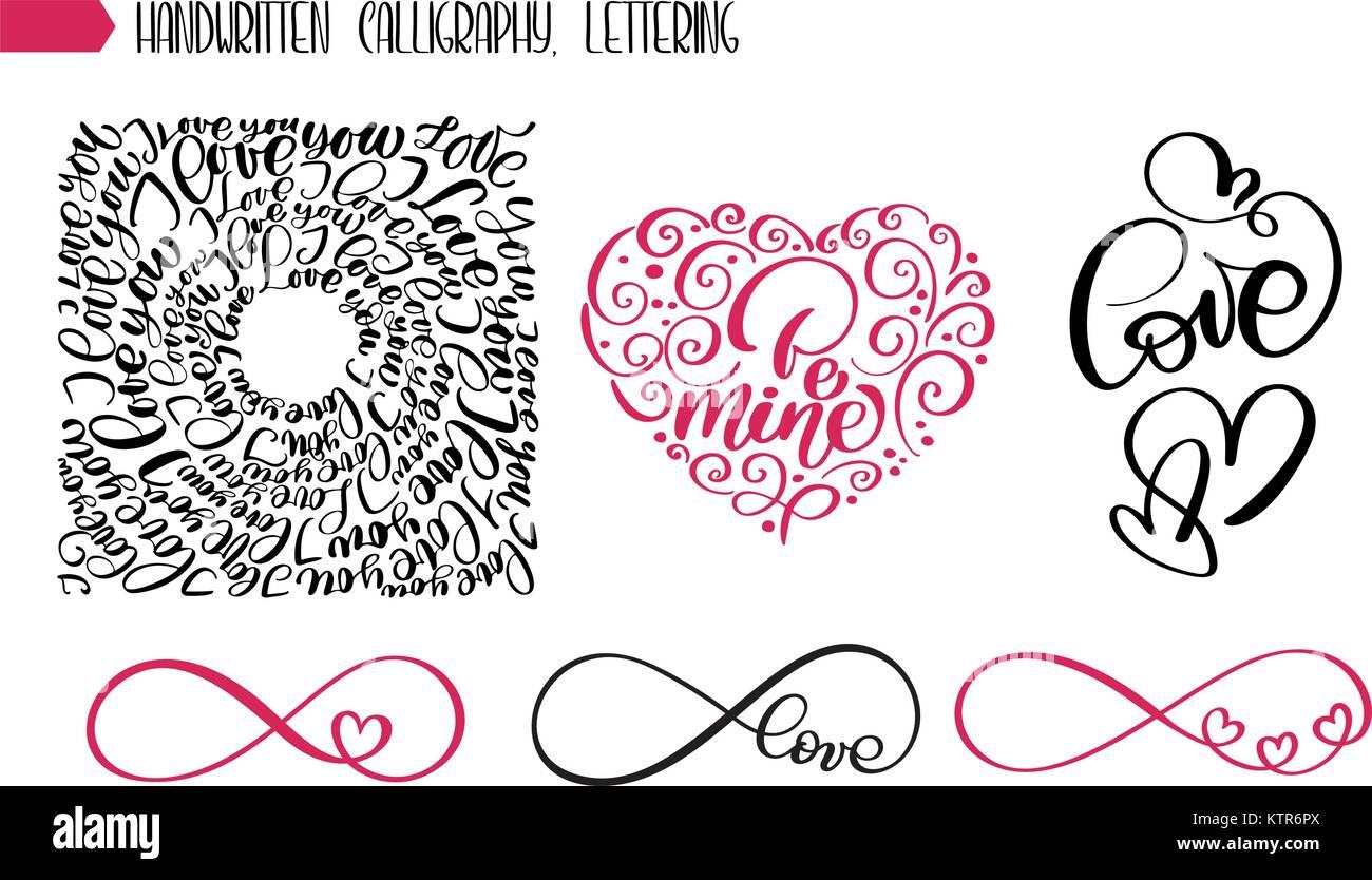Feliz Dia De San Valentin Amor Texto Para La Tarjeta De Felicitacion