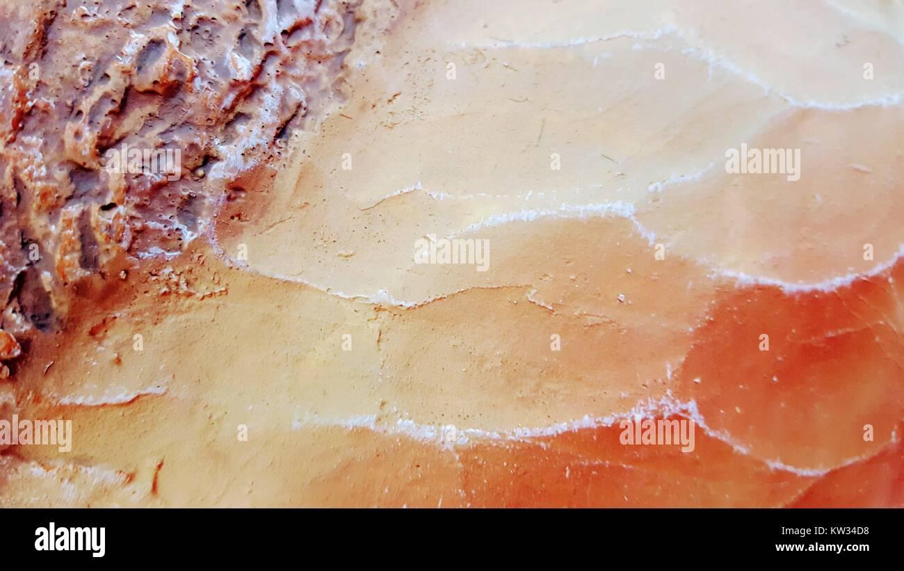 Resumen: Digital floral abstracto, creativa, pintura digital, diseño digital Foto de stock