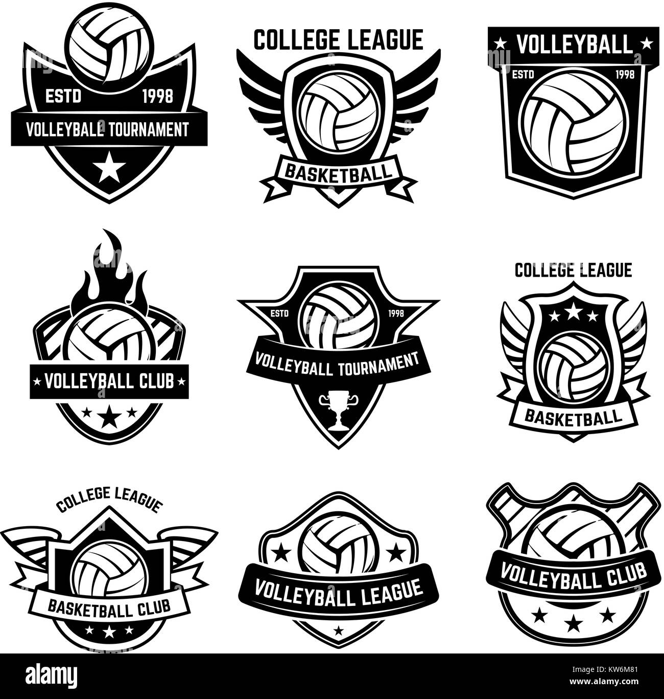 440 Foto Desain Logo Club Volly Gratis Terbaik Download Gratis