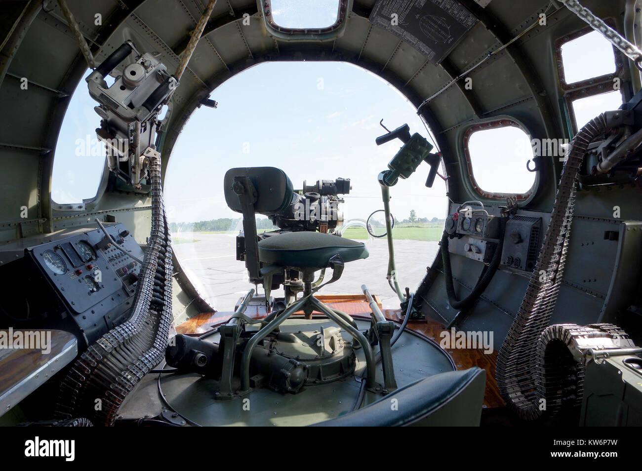 Viaje sentimental posición Bombardier Foto de stock