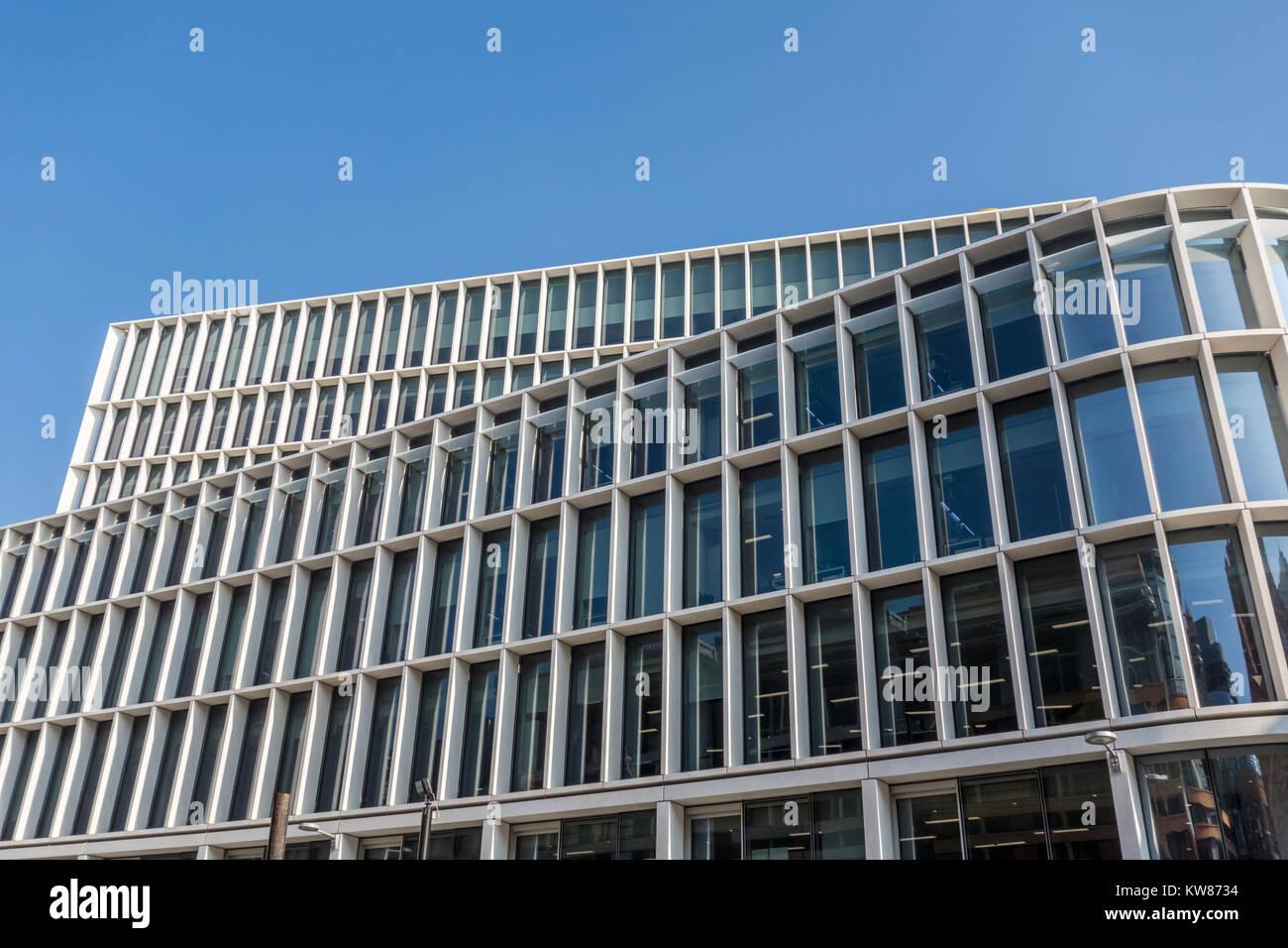 Uno nuevo, 60 Ludgate Ludgate Hill por Fletcher sacerdote Arquitectos, Ciudad de Londres, Reino Unido Foto de stock