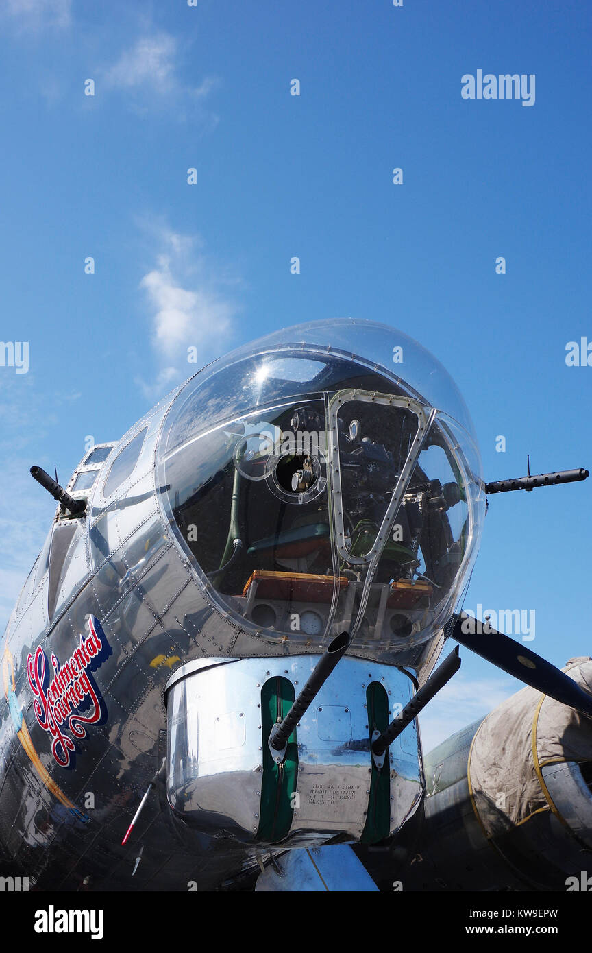 Boeing B-17G viaje sentimental Foto de stock