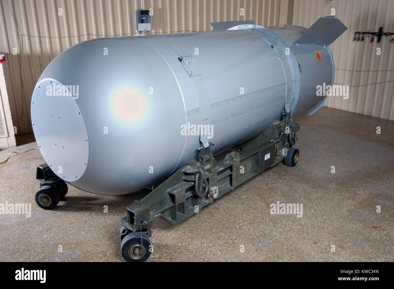 Bomba termonuclear en el arsenal estadounidense en 2011. El Mk/B53 fue uno de alto rendimiento bunker buster arma Imagen De Stock
