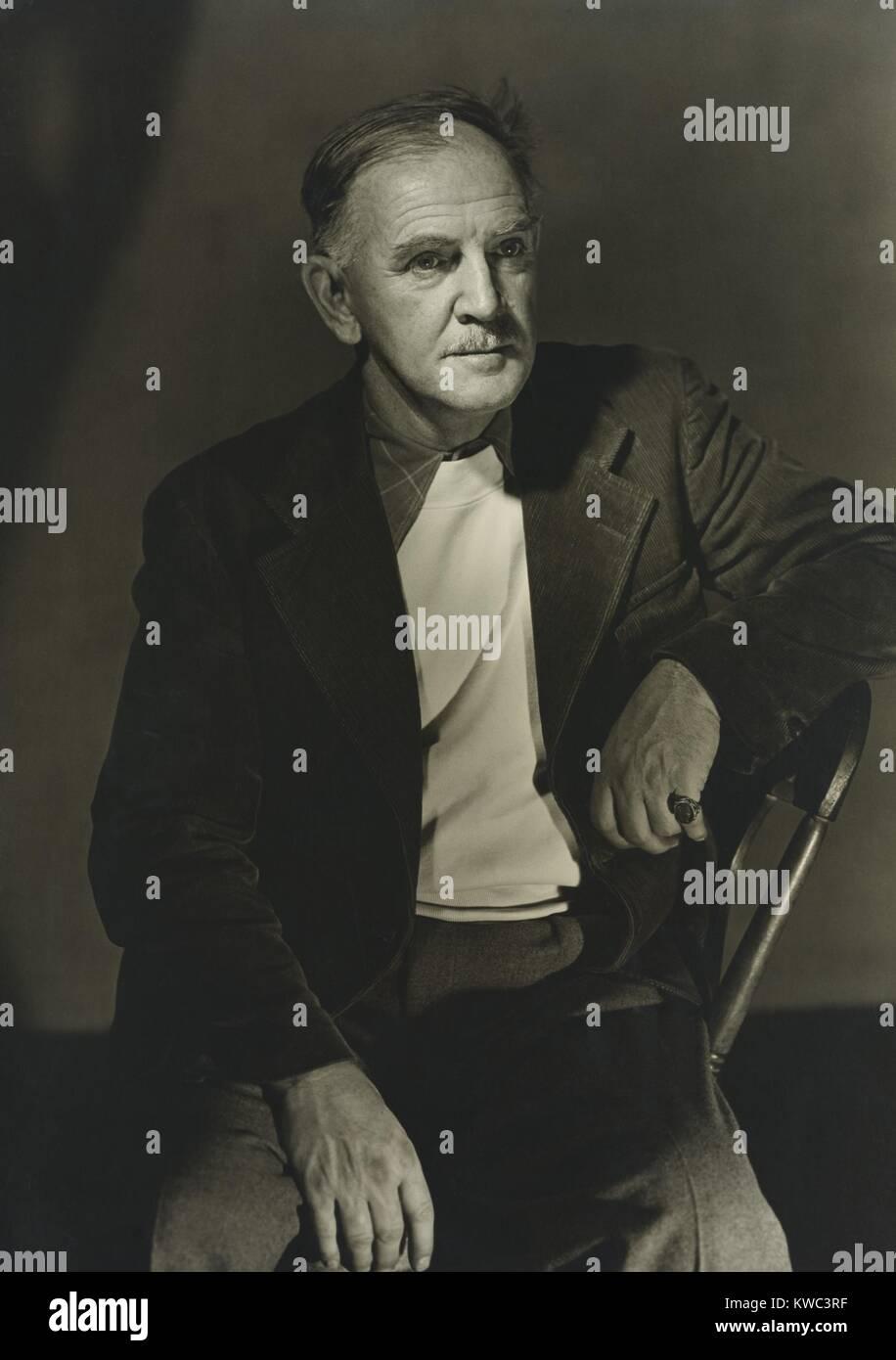 Milton Avery, Americano del siglo de mid-20th pintor modernista, activo desde 1920 a 1960. 1946 Foto por Katherine Foto de stock