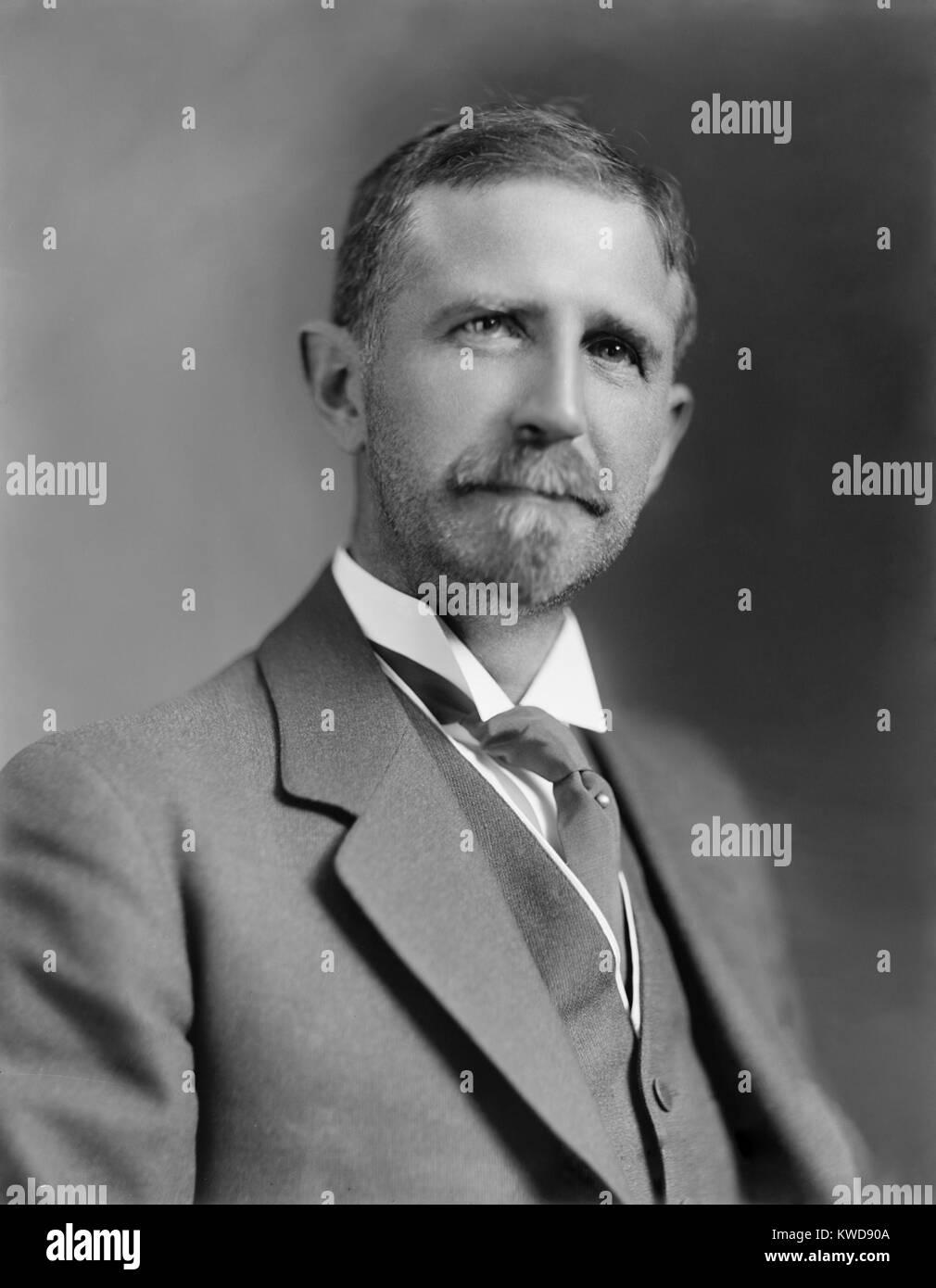 Roger Ward Babson fue un empresario estadounidense, economista, teórico y autor de negocios, c. 1920. El 5 de septiembre Foto de stock