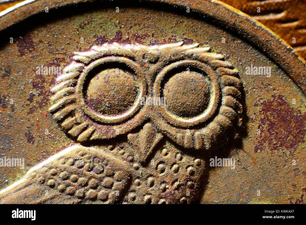 Griego, Griechische Drachme drachm Foto de stock