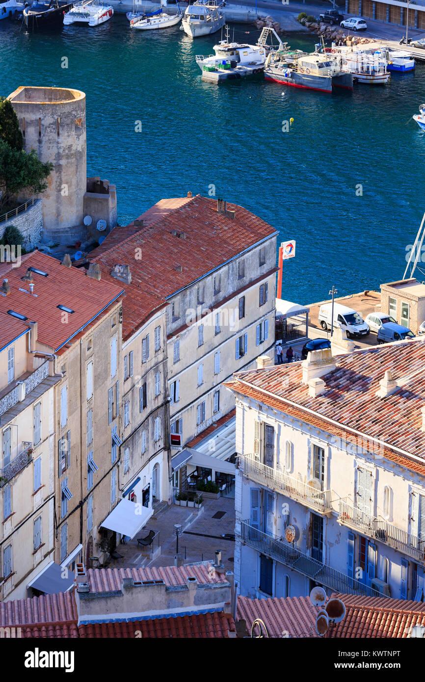 Bonifacio, Córcega, Francia Imagen De Stock