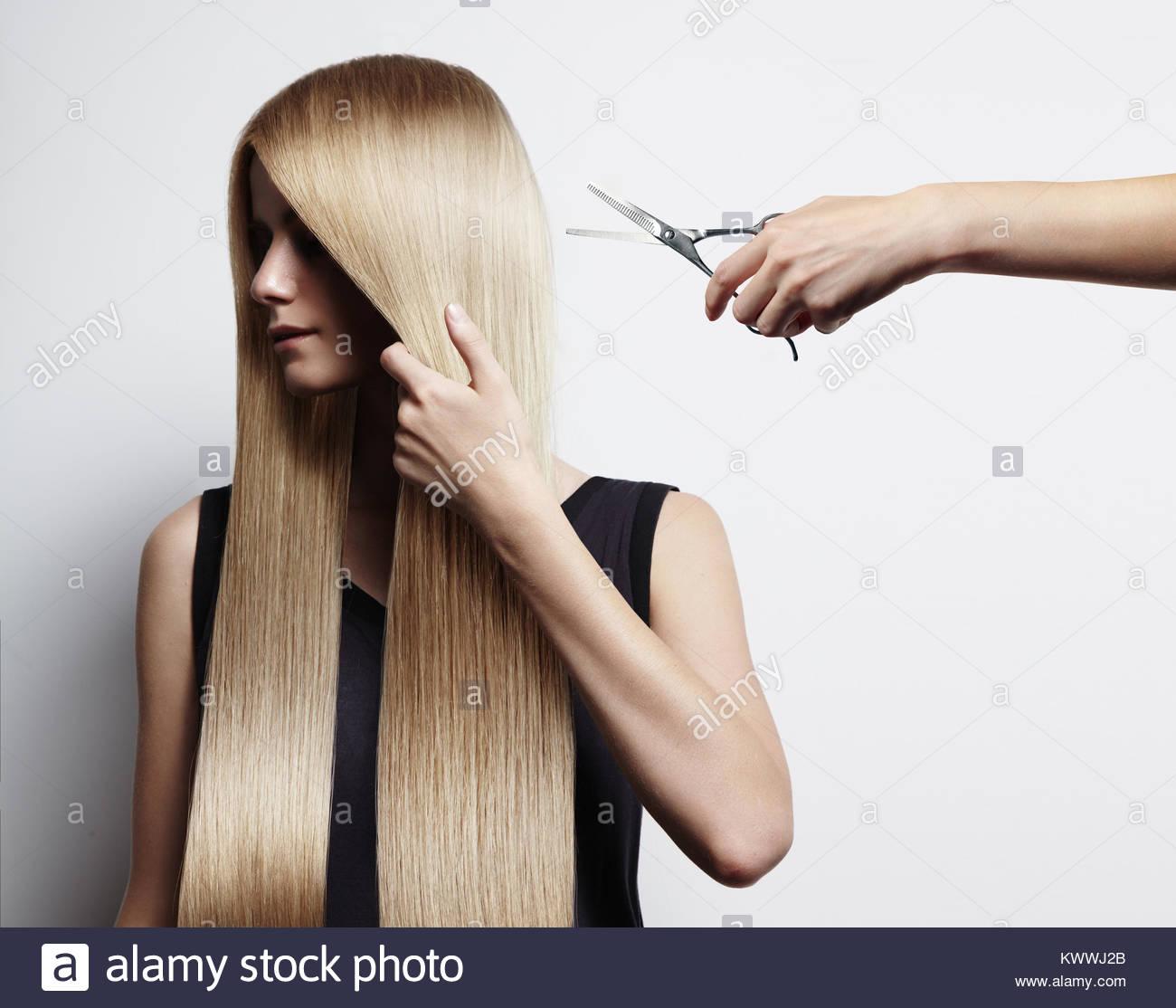Corte de cabello en u largo