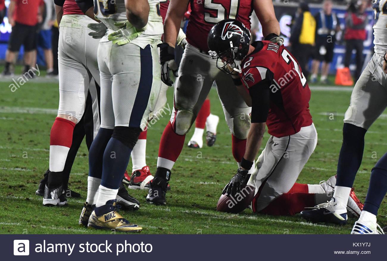 Los Angeles California Eeuu 6 Ene 2018 Atlanta Falcons El