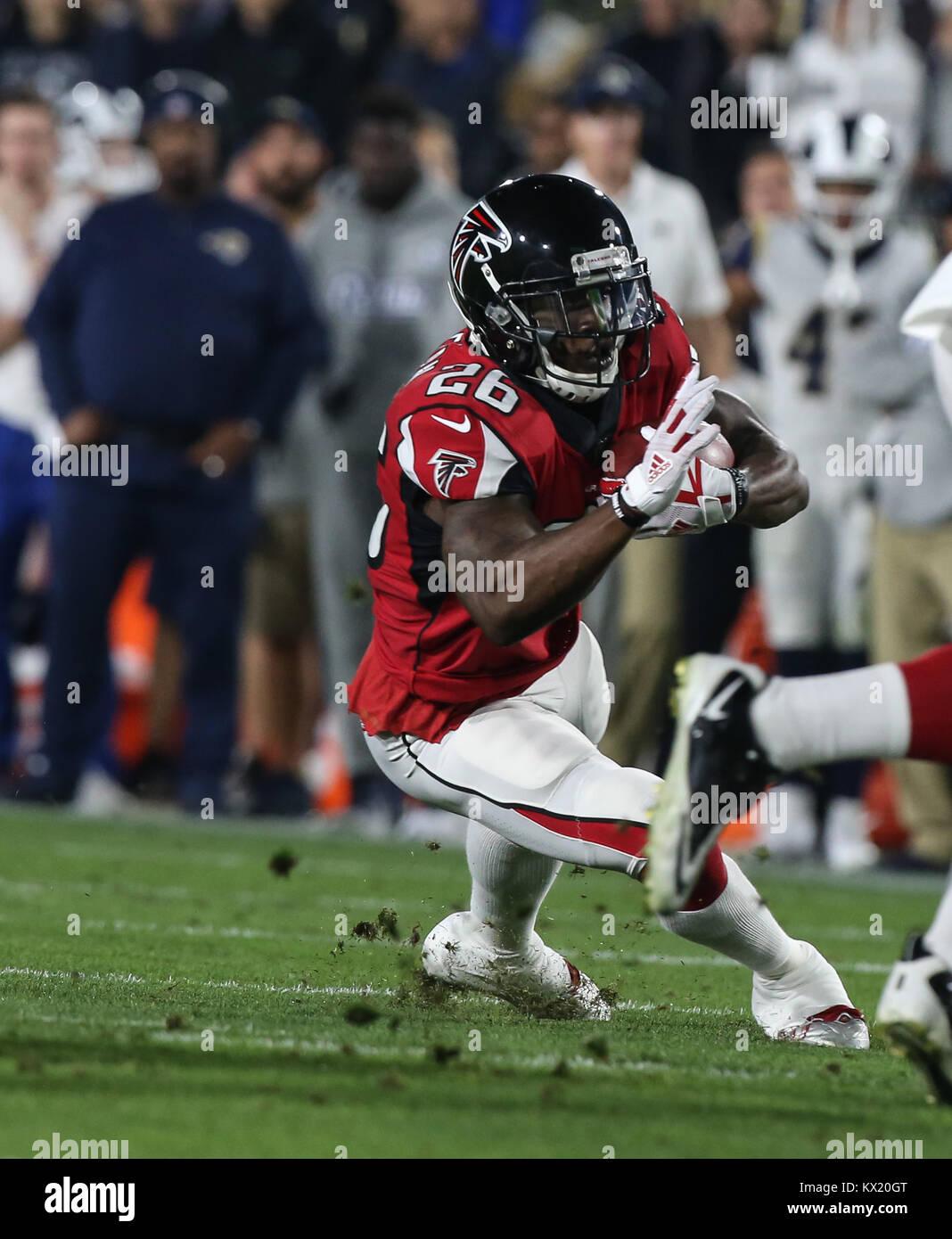 Los Angeles Ca Ee Uu 06th Ene 2018 Atlanta Falcons Volver