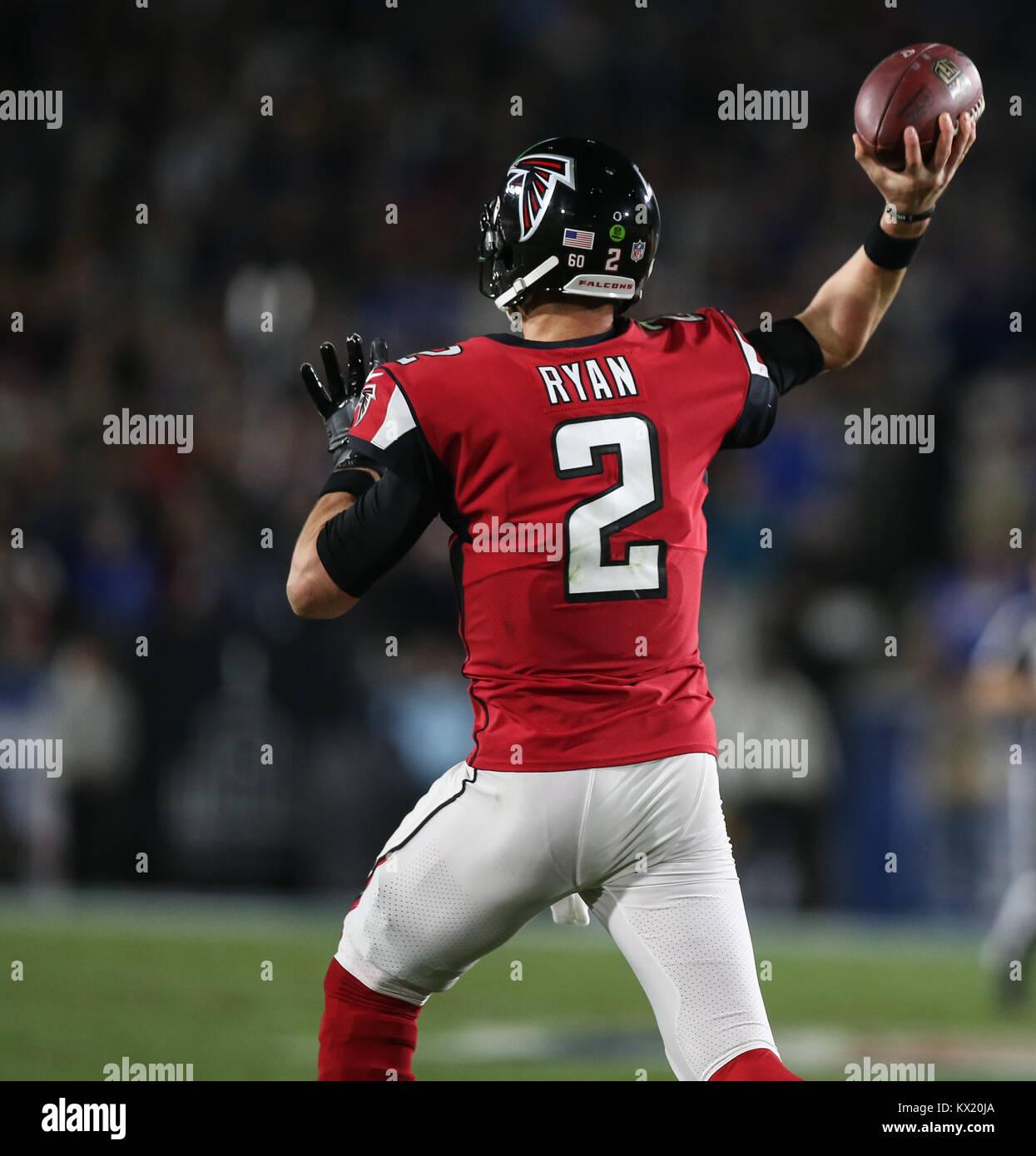 Los Angeles Ca Ee Uu 06th Ene 2018 Atlanta Falcons El Mariscal