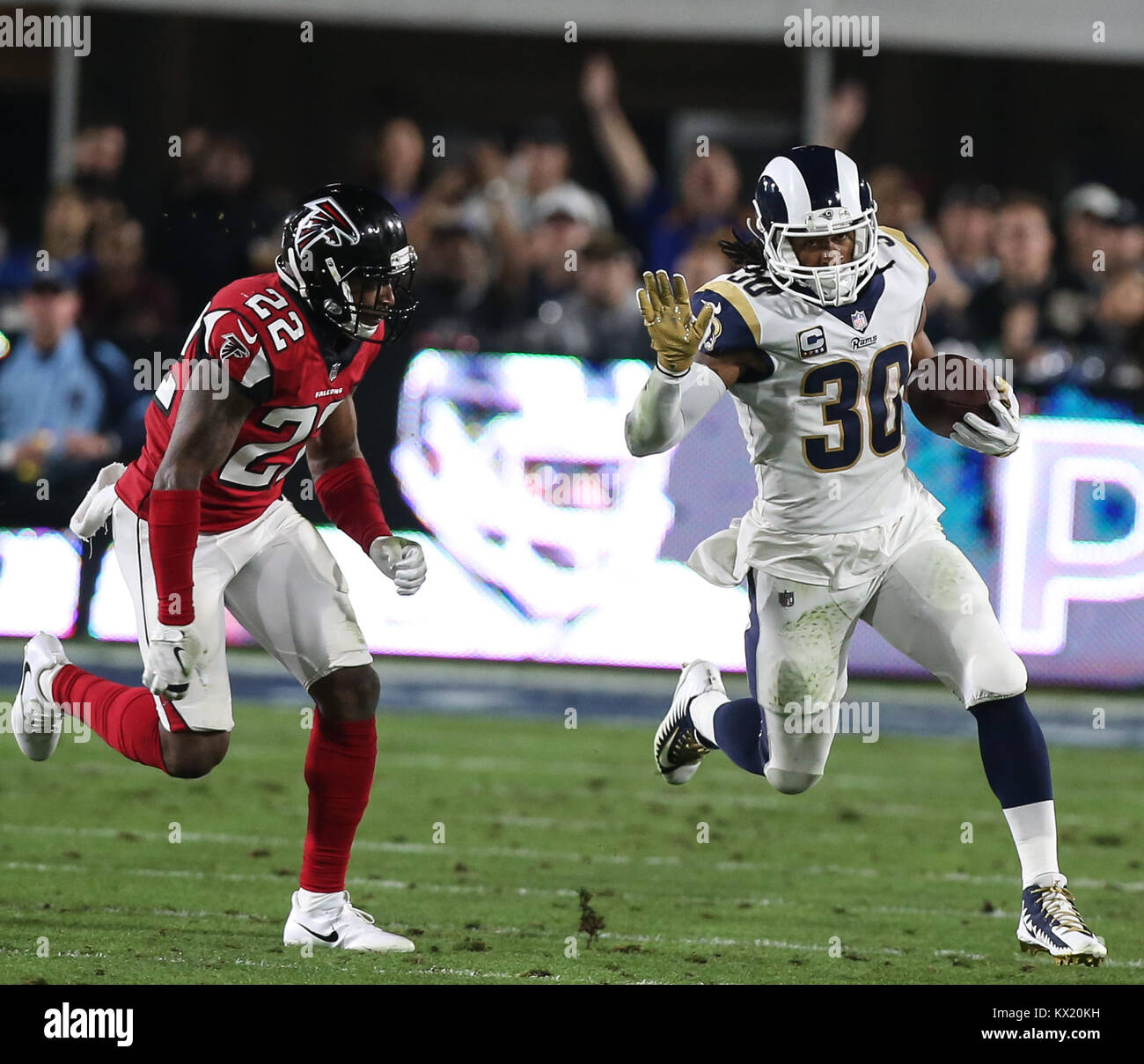 Los Angeles Ca Ee Uu 06th Ene 2018 Los Angeles Rams Volver