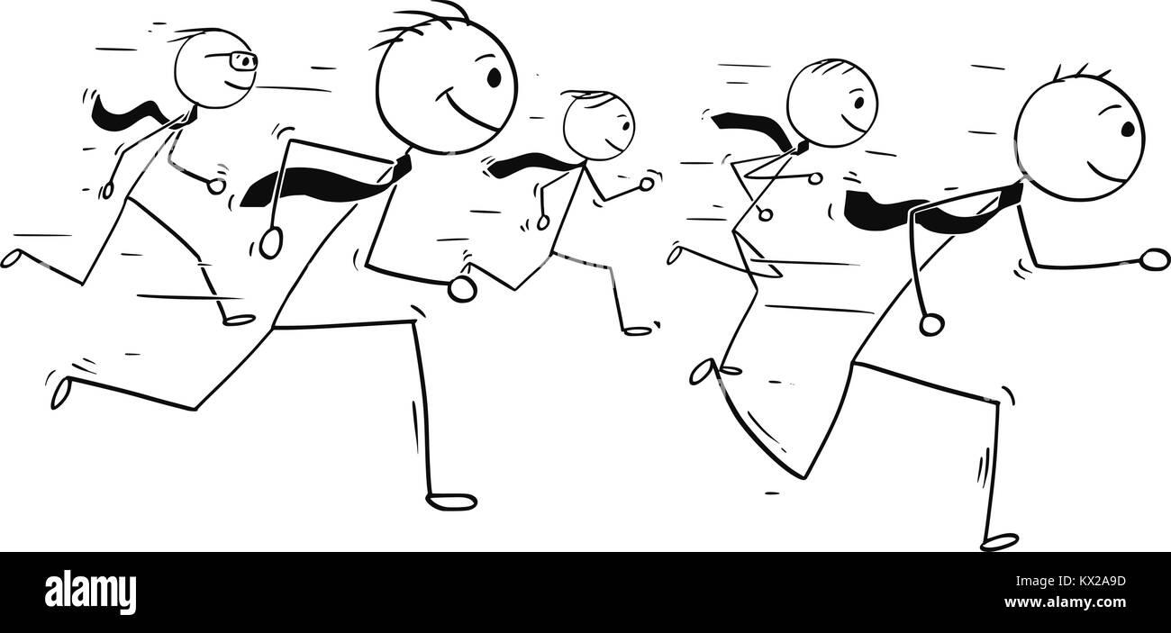 Man Office Stressed Cartoon Imágenes De Stock & Man Office Stressed ...