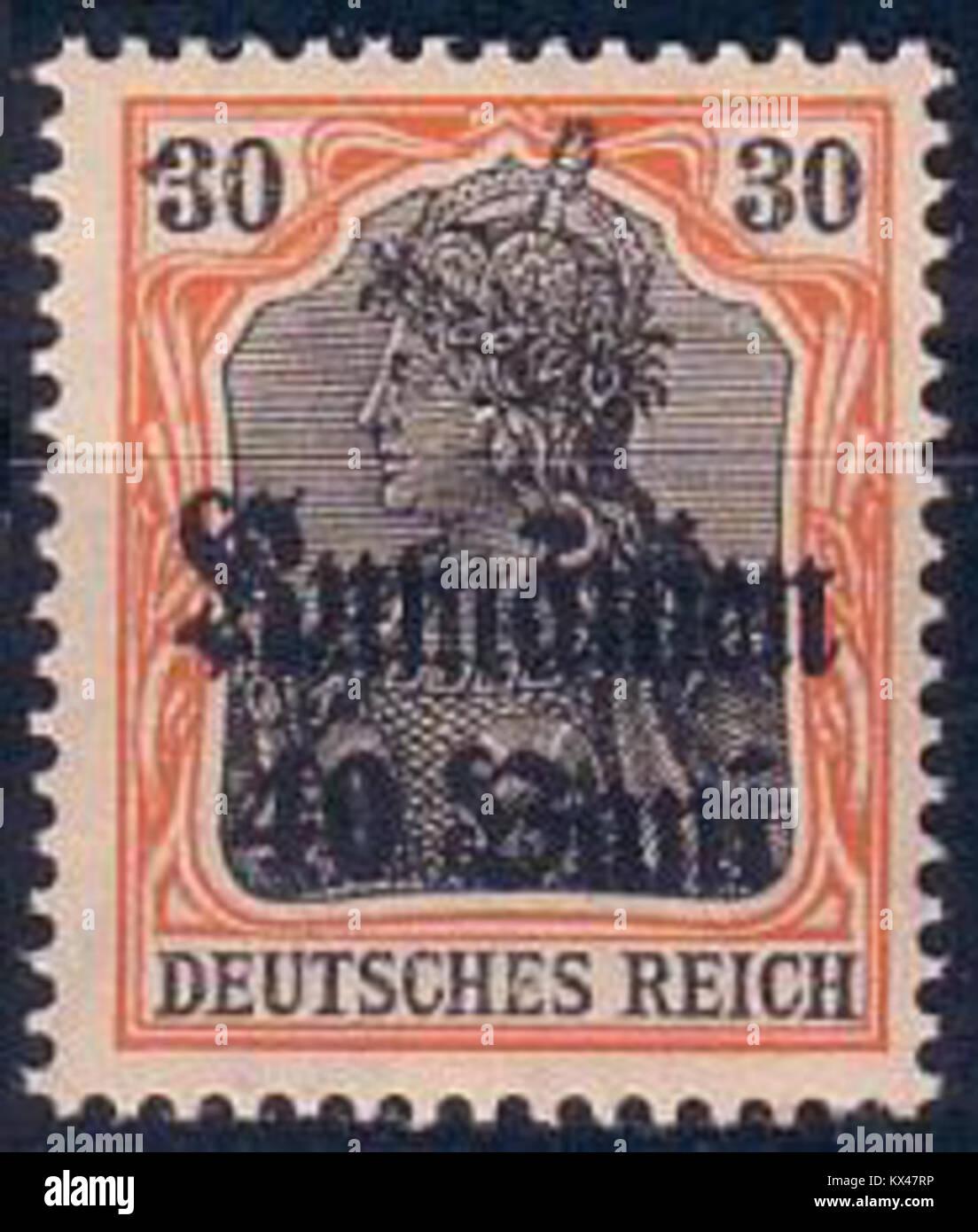 Deutsches Reich - Rumänien(1) Foto de stock
